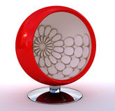 Red Sphere Chair Royalty Free Stock Photography