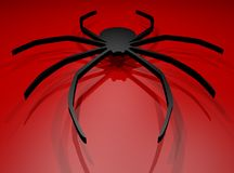 Red spider Royalty Free Stock Image