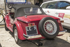 Red spider fiat siata classic Stock Photography