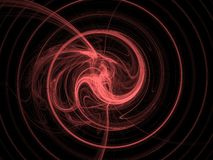 Red spiral Stock Photos