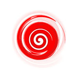 Red spiral Royalty Free Stock Photography