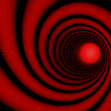 Red spiral Stock Images
