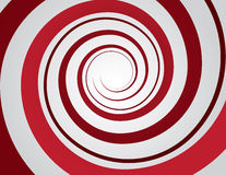 Spiral Red Stock Image