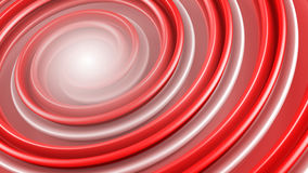 Red spiral shape abstract 3D rendering Royalty Free Stock Images