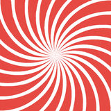 Red spiral vintage Stock Photography