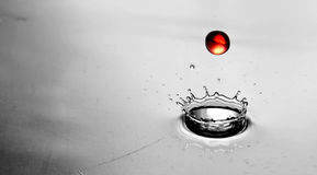 Red Splash Royalty Free Stock Photography