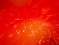 Red splash Stock Image