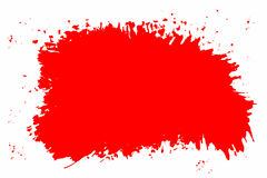 Red splatter Stock Image