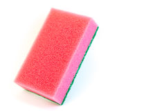 Red sponge Stock Images
