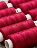 Red  spools Royalty Free Stock Images