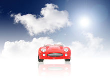 Free Red Sport Car Royalty Free Stock Photos - 6287158