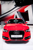 Red sport car Audi A1 Stock Image