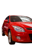 Red sport car front Stock Images