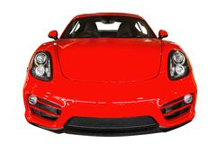 Red Sport Car Stock Image