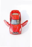 Red  sport car model Stock Photography