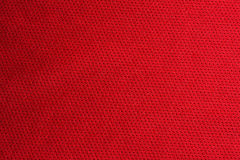 Red sport fabric texture Stock Image