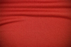 Red sport jersey clothing texture Royalty Free Stock Photography