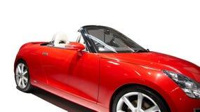 Red sports car Stock Photos