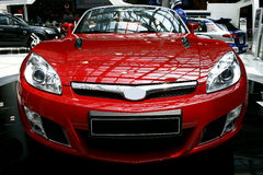 Red Sports Car Stock Images