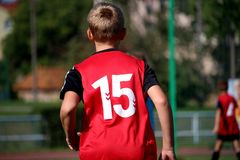 Red, Sports, Football Player, Team Sport