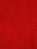 Red sports jersey. Mesh uniform Royalty Free Stock Image