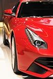 Red sportscar Stock Photo