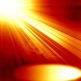 Red spotlight Stock Image