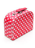 Red spotty case Royalty Free Stock Photography