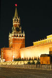 Red Square. Night view of Red Square, Moscow royalty free stock photo