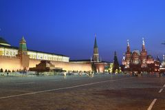 The Red Square Royalty Free Stock Photos