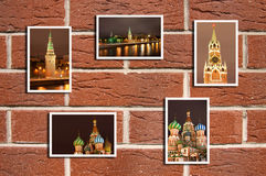 Red Square. The beautiful Red Square multiphotos vector illustration