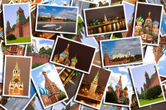 Red Square. The beautiful Red Square multiphotos royalty free illustration
