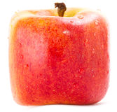 Red Square apple Stock Photo