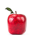 Red Square apple Royalty Free Stock Photos