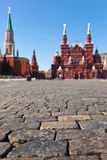 Red Square At Kremlin Moscow Stock Photo