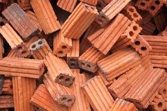 Red square bricks Royalty Free Stock Image