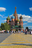 Red Square Cathedral Stock Images