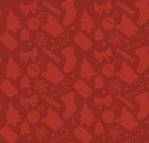 Red square christmas background Royalty Free Stock Photos