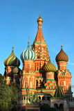 Red square in the evening, Moscow, Russia Stock Image