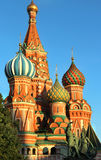 Red square in the evening, Moscow, Russia Stock Photos