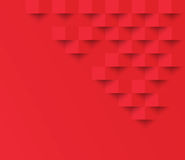 Red square geometric texture background  Abstract square geometr Royalty Free Stock Photography