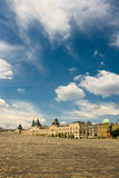 Red square gum moscow. Under summer sky Royalty Free Stock Photo