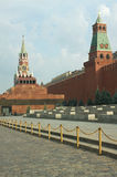Red Square with Kremlin wall in Moscow Russia Stock Photo