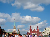 The red square Royalty Free Stock Photo