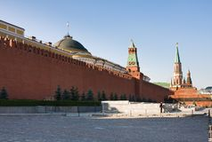 Red Square in Moscow Royalty Free Stock Photo