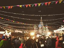 Red Square. In Moscow Stock Image