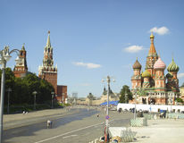 Red Square. Moscow stock image