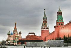 Red square, Moscow Russia Royalty Free Stock Photo