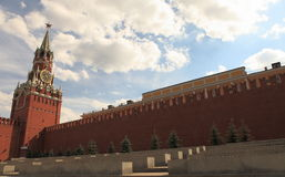 Red square (Moscow, Russia). Kremlin in Red square in Mocow Royalty Free Stock Photos