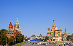 Red Square in Moscow. Russia Stock Photos